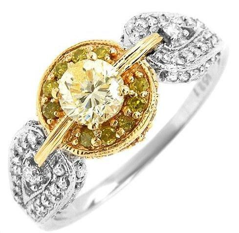 0.96ctw Genuine Clean Diamond Ring