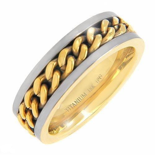 Titanium Gents Ring