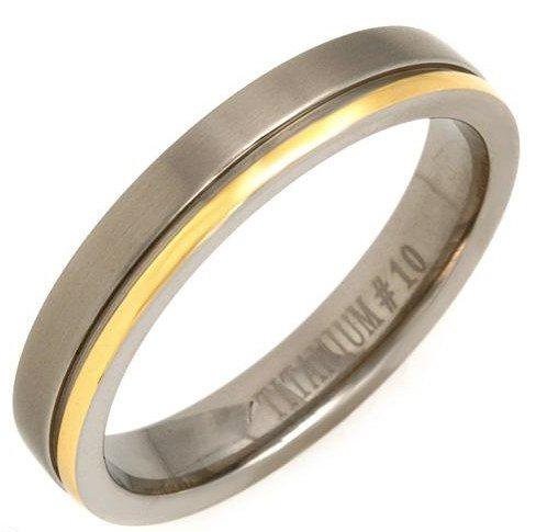 Titanium Gent's Comfort fit Ring