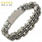 Gent's Stainless Steel Bracelet Made in Italy
