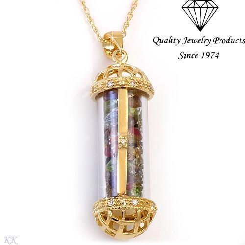 Exquisite Necklace With Precious Stones