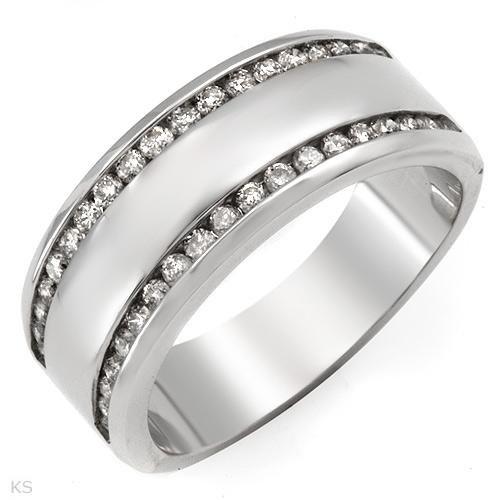 Beautiful Ring With 0.50ctw Genuine Diamonds