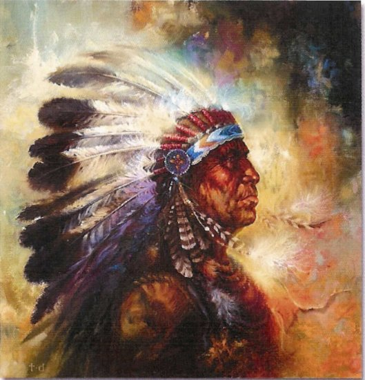 """Limited Edition Giclee Tom DuBois' """"The Firechief"""""""