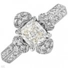 Brand New 1.55ctw Diamond Ring in 18K WG