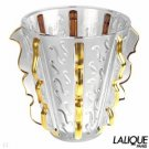 Authentic LALIQUE Vase Swing Or Collection