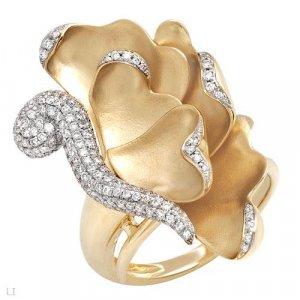Magestic Ring w/Genuine Diamonds