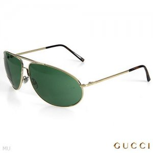 New Authentic GUCCI Made in Italy! Aviator Sunglasses