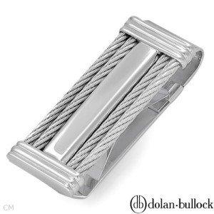 New Dolan Bullock 925 Sterling Siver Money Clip
