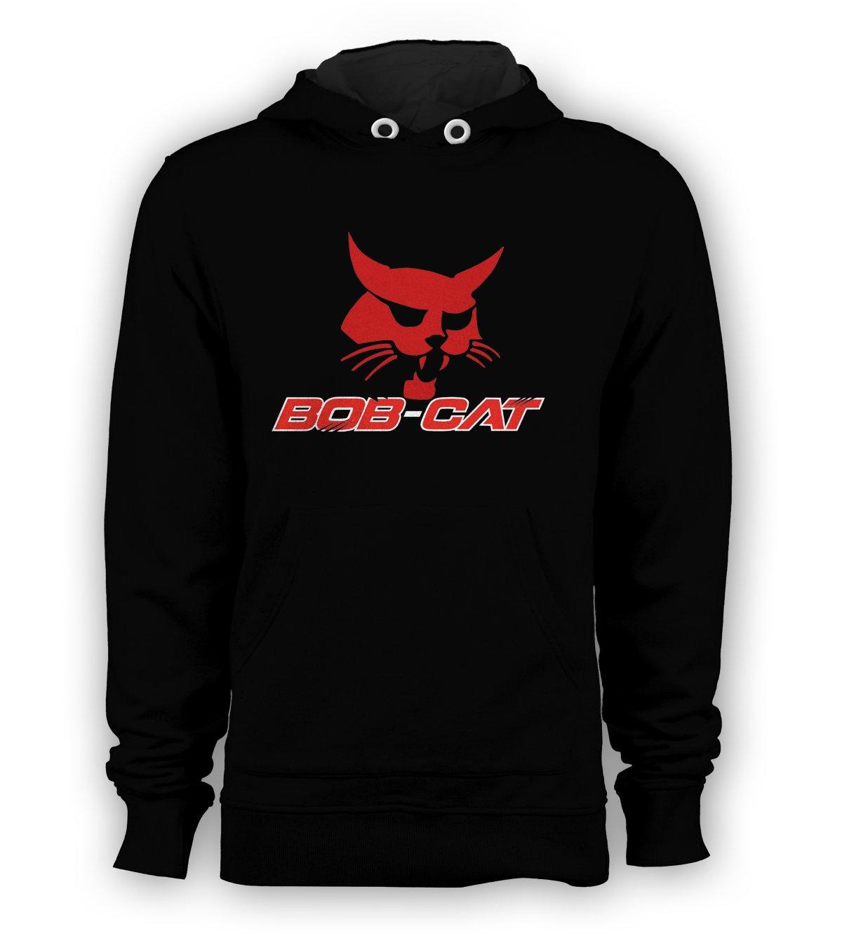 Bobcat Pullover Hoodie Men Sweatshirts Size S to 3XL New Black
