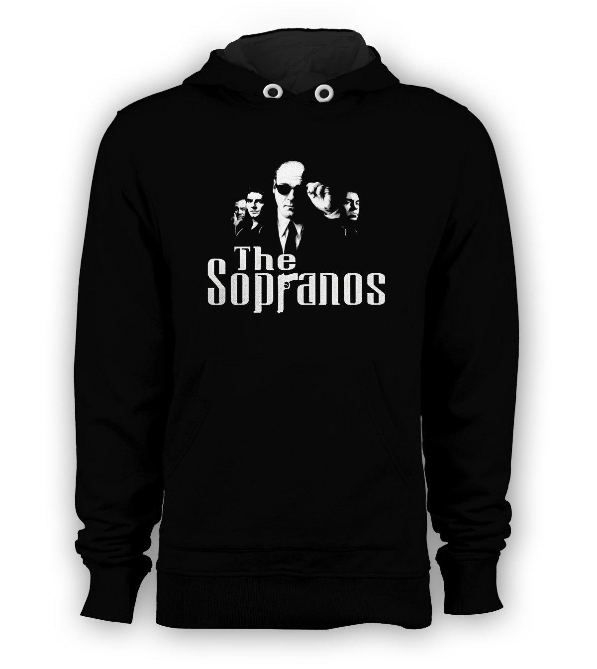 The Sopranos Movie Pullover Hoodie Men Sweatshirts Size S to 3XL New Black