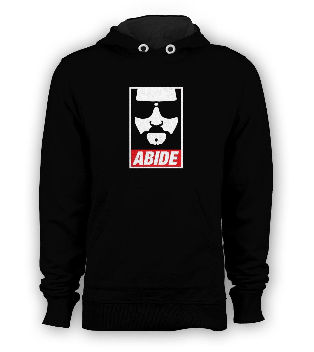 Abide Big Face Lebowski Pullover Hoodie Men Sweatshirts Size S to 3XL New Black