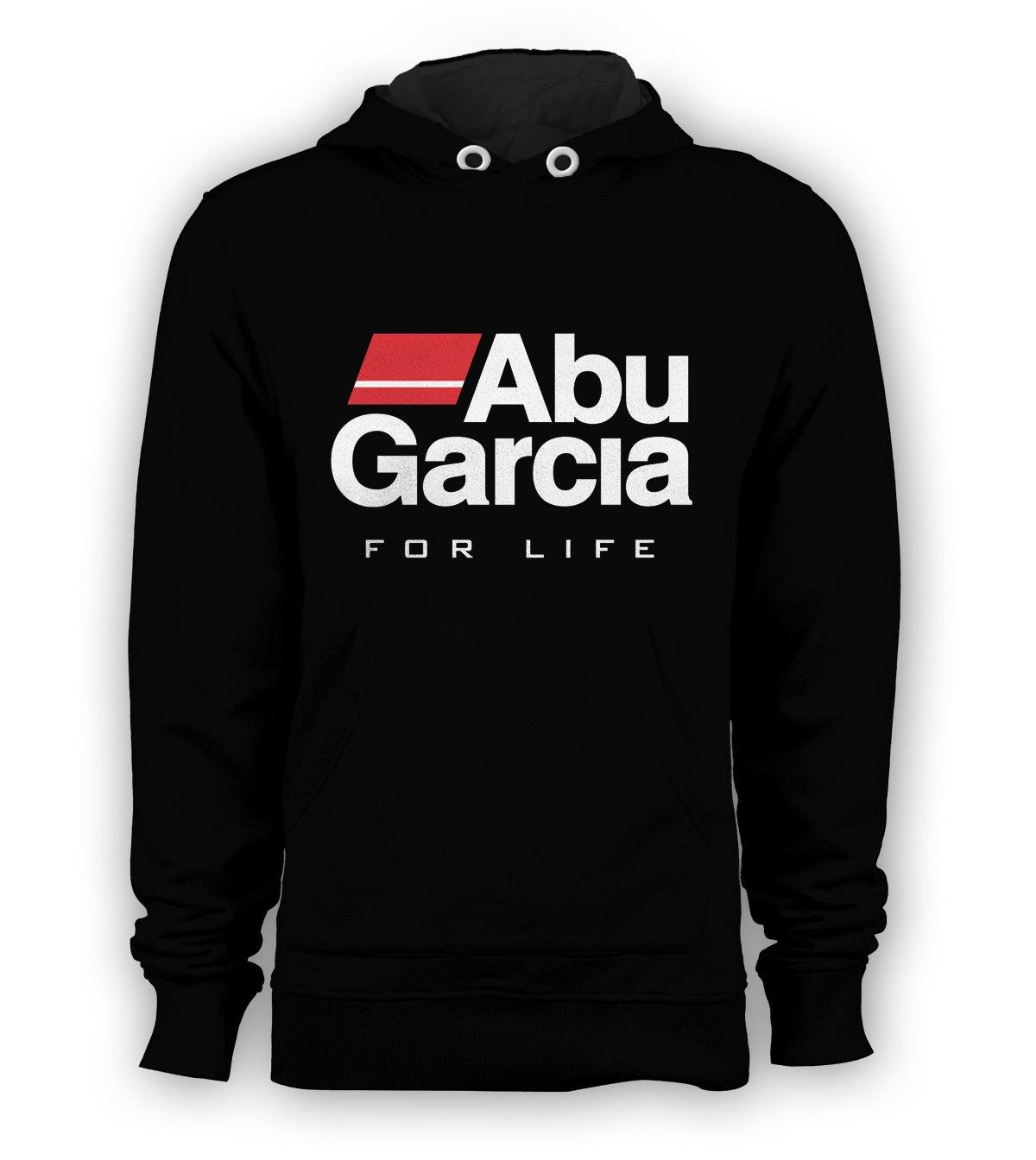 Abu Garcia Fishing Reel Tackle Pullover Hoodie Men Sweatshirts Size S to 3XL New Black