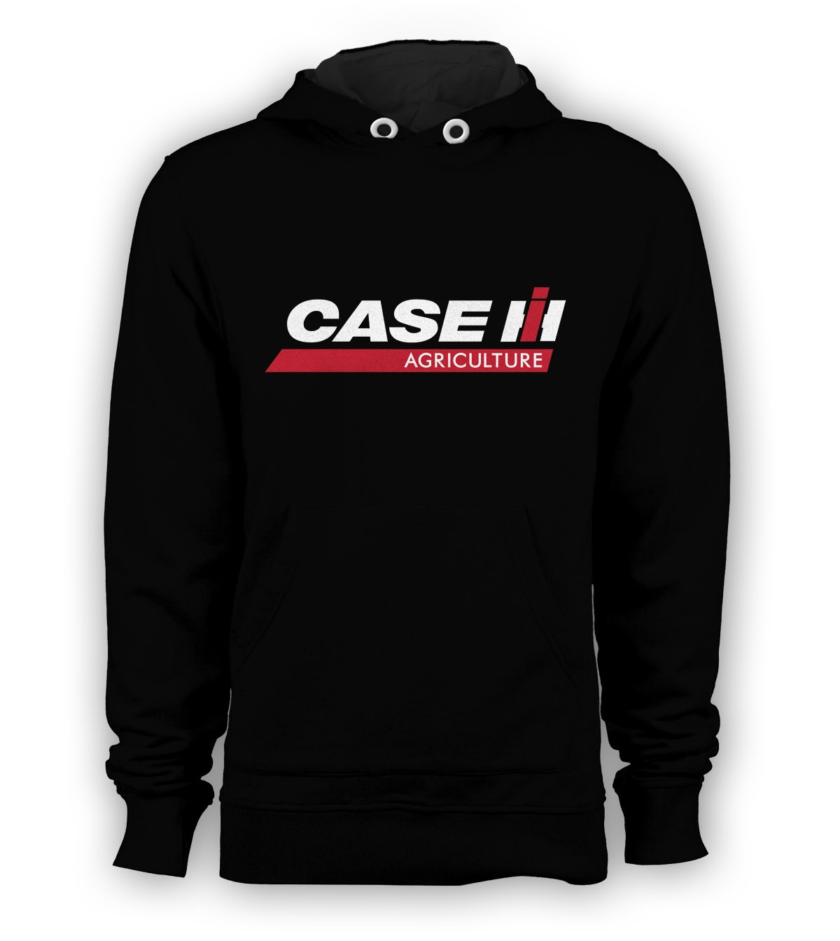 Case IH Agriculture Pullover Hoodie Men Sweatshirts Size S to 3XL New Black