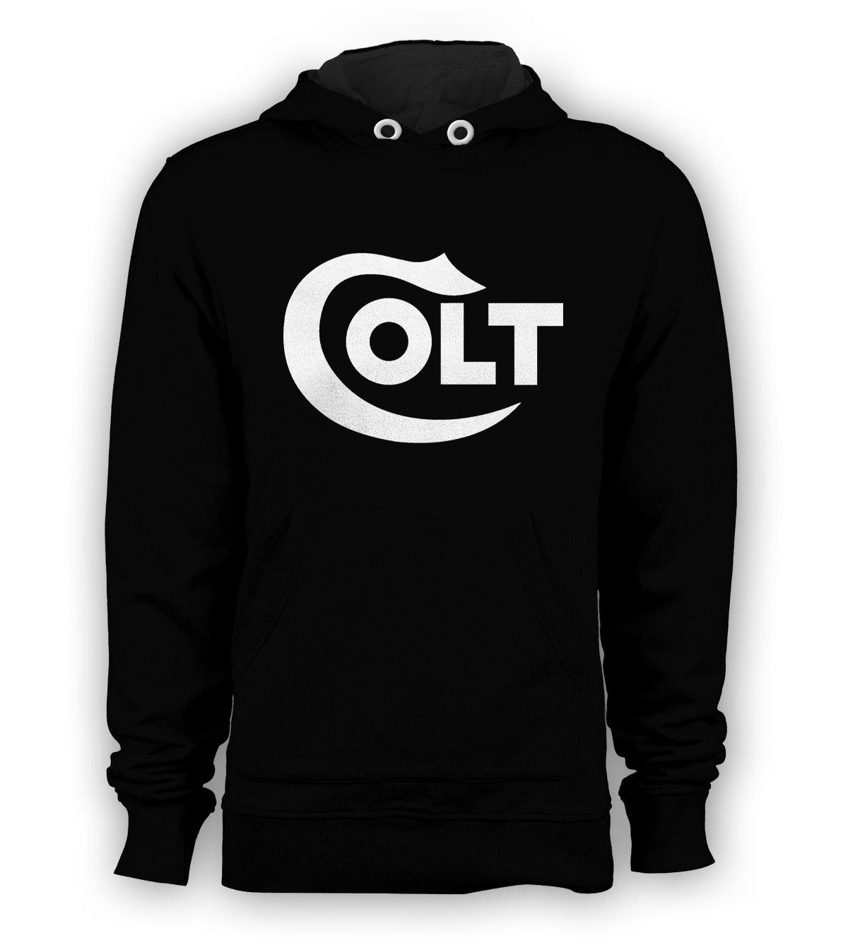 Colt Firearms Rifle Gun Pullover Hoodie Men Sweatshirts Size S to 3XL New Black