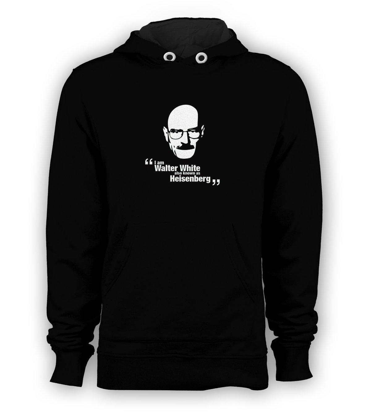 Heisenberg Walter White Pullover Hoodie Men Sweatshirts Size S to 3XL New Black