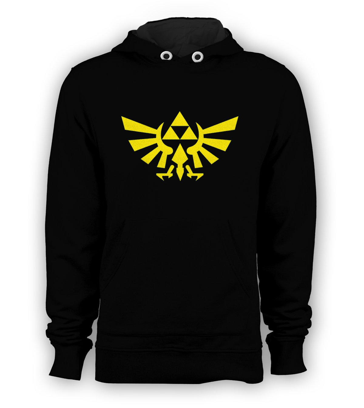 The Legend of Zelda Wings Games Pullover Hoodie Men Sweatshirts Size S to 3XL New Black