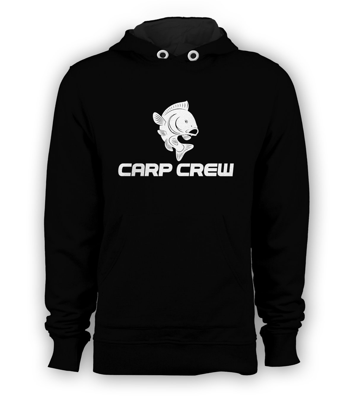 CARP CREW catfish pike fly fishing spinning Tackle Angler Pullover Hoodie