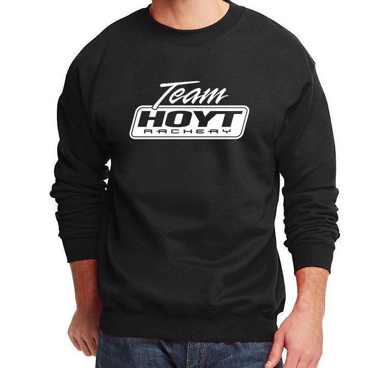 Team Hoyt Archery Men's Sweater Hunting Pro Gun Sweatshirts Jumper