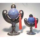 CEMILLE Genie of FRIENDSHIP Ceramic Oil Lamp SMALL 6 inch #2002