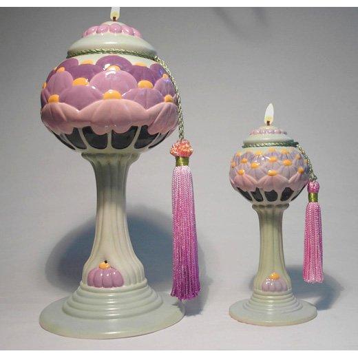 ANAHITA Genie Lamp of MOTHERS Ceramic Oil Lamp Large 10 inch #2608