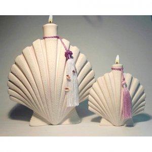 DENIZ Genie of SEA Ceramic Oil Lamp small 6 inch #2009 - 3 Wishes FREE