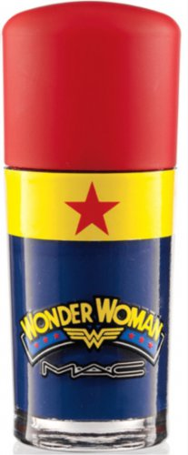 MAC Spirit Of Truth (blue) WONDER WOMAN Nail Lacquer AUTHENTIC
