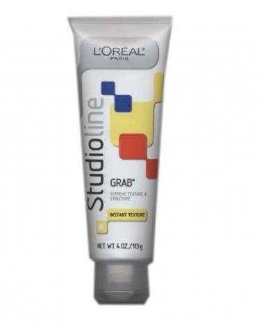 L'oreal Studio Line GRAB Instant Texture Hair Gel 4 oz. LOreal NEW tube