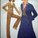 Uncut 70's Vintage Skirt Pants Unlined Jacket B 34 Sz 12 Simplicity Sewing Pattern 8315