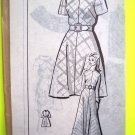 New Mod 60's Vintage Sewing Pattern A Line Dress Mini Maxi B 40 Plus Size 18 Mail Order 8246