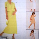 Uncut 3 Hour Dress 2 Lengths & Boxy Bolero Jacket Sz 10 12 14 McCall's Sewing Pattern 8719