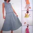 Uncut Sewing Pattern 8737 Easy Separates Tunic Tops Pants Skirt 10 12 14
