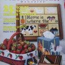 $4 SALE Vintage 80's Vintage Plastic Canvas 25 Patterns Back Issue Magazines July/Aug 1989 # 3