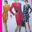 Vogue Sewing Pattern Mock Wrap Dress Sz 8 10 # 8225 Clearance Sale $5.00 and Under Patterns