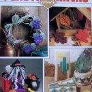 Plastic Canvas Patterns Magazine October 1990 #5 Grandparents Day Gift, Halloween
