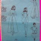 Vintage Girls Pantskirt Mini Maxi w/ Detachable Bib Overall Sewing Pattern Sz 10 Pant Skirt  S5385
