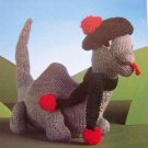 USA 1 Cent SHip Loch Ness Monster Vintage Knitting Pattern Knit Lock Nessie