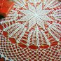 Vintage 80's Magic Crochet Pattern Magazine 56 Vintage Filet Thread Doily Tablecloth Bedspread