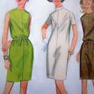 1960's Mod Dress B 34 Vintage Sewing Pattern 9145