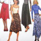 New Flared Skirts Contour Waist Side Zipper Plus Sz 18 20 22 New Sewing Pattern 4026