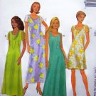 Sleeveless Sundress or Sheer Futter Short Sleeves Dress  Sz 4 6 8 Easy Uncut Sewing Pattern 9313