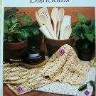 US 1 Cent S&H Crochet Pattern Cotton Dishcloths Washcloths 3 Styles Crocheted Dishcloth