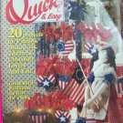 Cross Stitch Quick & Easy Back Issue Pattern Magazine 20 Patterns