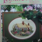 1990s Leisure Arts Craft Magazine Knitting Crochet Cross Stitch Quilting Pattern Book