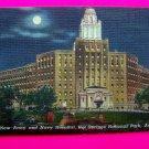 1940s New Army and Navy Hospital, Hot Springs National Park Arkansas Postcard Photo Linen?