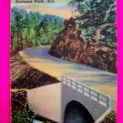 40s Vintage New Gorge Road Hot Springs National Park Arkansas Ark Postcard Souvenir Card
