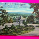 1940s Landscape Scene Hot Springs Mountain National Park Arkansas Souvenir Postcards