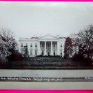 Vintage Black & White Velox Photo The White House Washington DC Rideout Picture