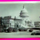 Vintage 1930s Photograph Black White US Capitol Building Washington DC Buckingham