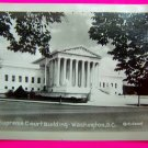 Vintage 30s US Supreme Court Building Photo Washington DC Rideout Velox Photogragh