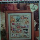 Better Homes and Gardens Cross Stitch and Country Crafts Pattern Book June 1993 Magazine Patterns
